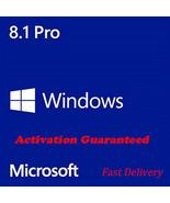 Windows 8.1 Pro Professional Product Key for 32 & 64 Bit - Activation Gu... - $9.60
