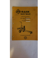 Vintage Ag Rain Water Winch WW 1400M and 5301 Engine Drive Operators Manual - $35.06