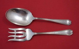 "Lady Baltimore by Whiting Sterling Silver Salad Serving Set 2pc AS 8 3/4"" - $274.55"
