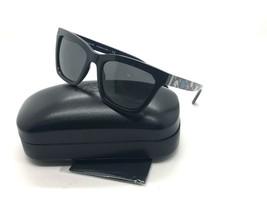 Coach HC8208 545787 Square Sunglasses Black / Blue Floral / Dark Grey 55... - $77.57