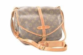 LOUIS VUITTON Monogram Saumur 30 Shoulder Bag M42256 LV Auth 11837 - $260.00