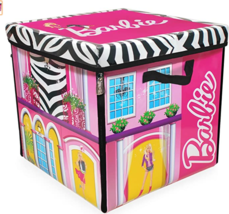 Barbie ZipBin 40 Doll Dream House Toy Box and Playmat - $33.95