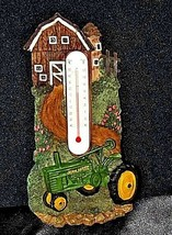 Authentic John Deere Farm Scene Thermometer AA18-JD0039