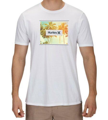 Hurley Men's Tee Shirt Bloomer Photo Premium Logo Graphic T-Shirt Short Sleeve