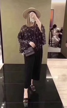 BNIB AUTHENTIC CHANEL BLACK QUILTED CAVIAR SQUARE FLAP BAG SHW image 9