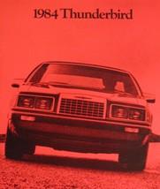 1984 Ford Thunerbird T-bird Original Brochure 84 - $11.87