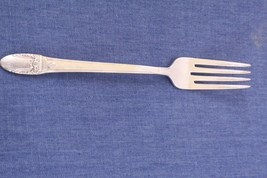 1847 rogers bros  international silver first love fork, Silverplate, free ship - $13.00