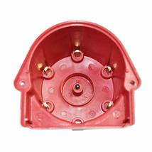 GM 90° V6 262 ci 4.3 6-Cylinder TBI EFI Distributor Cap & Rotor Kit Red Chevy image 5