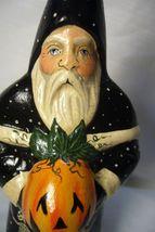 Vaillancourt Folk Art Halloween Santa, personally signed by Judi! image 5