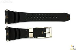Citizen Eco-Drive BJ8044-01E Black Rubber Watch Band Strap w/ 4 Screws - $101.62