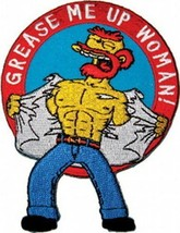 The Simpsons Willie Figure Grease Me Up Woman! Embroidered Patch, NEW UN... - $7.84