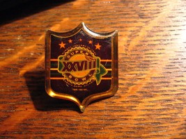 Super Bowl XXVIII Pin - Vintage 1994 Georgia Dome Atlanta Dallas Cowboys... - $19.79