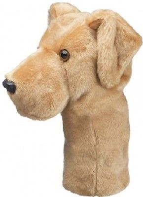 Primary image for Yellow Lab  Daphne Head Cover 460cc Drivers and Fairway Woods