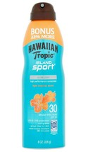 Hawaiian Tropic Island Sport High Performance tropic Sun Screen Spray SPF 30 8Oz image 1
