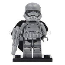 Single Sale Captain Phasma Star Wars Series Minifigure Blocks for LEGO B... - $7.99