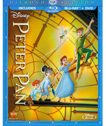 Disney Peter Pan (Blu-ray/DVD, 2-Disc Set, Diamond Edition) - $22.46