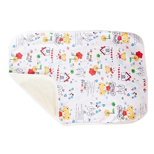 Unique Baby Home Travel Urine Pad Mat Cover Changing Pad 80100cm, Bear