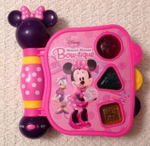 Disney Minnie Mouse BOW-TIQUE My First Learning Book With Lights And Sounds - $7.60