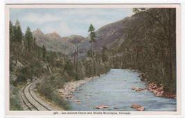 Railroad Track Las Animas Canon Colorado postcard - $5.45