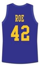 Ricky Roe Western University Basketball Jersey Blue Chips Movie Blue Any Size image 5