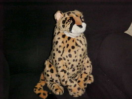 "15"" Cheetah Puppet Plush Stuffed Toy By Folktails Folkmanis Retired & Rare - $56.09"