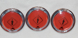 [Lot of 3] Jordana Essential Gloss 09 Coral Charm Lip Gloss in Flip Case - $12.59