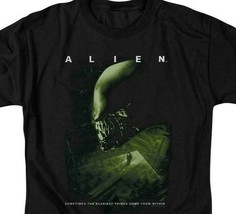 Alien t-shirt Scariest Things Within retro 70's 80's Sci-Fi graphic tee TCF108 image 2