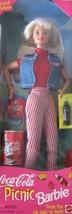 Mattel Coca Cola Picnic Barbie 1997 - $14.84