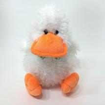 "Animal Adventure Duck 9"" Plush Stuffed Animal White Orange Green Bowtie - $19.99"