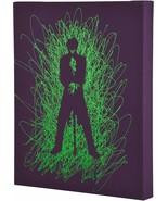 Joker Silhoutte Paint Splatter Canvas 16 by 20 2 Inch Depth Size - $18.59