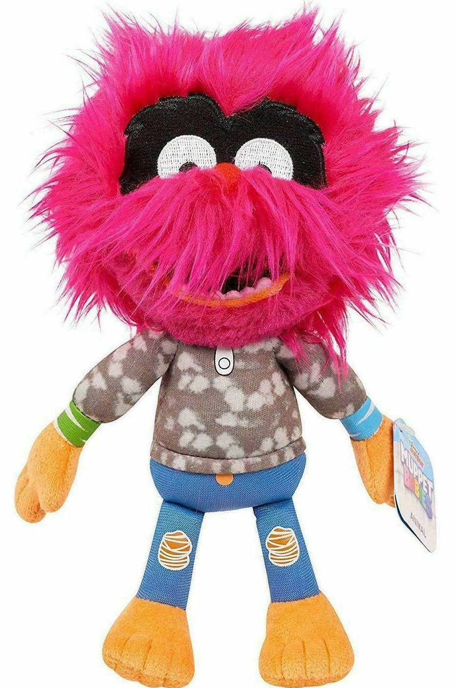 """Disney Junior Bean Plush Muppet Babies Animal 8"""" Stuffed Animal Toy Fuzzy Hair - $16.00"""