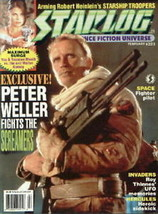 Starlog Magazine #223, Screamers-Peter Weller 1996 NM - $5.90