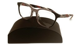 Prada Women's Gray Black Glasses with case VPR 04U-F VYL-1O1 54mm - $209.99