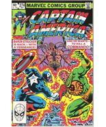 Captain America Comic Book #274 Marvel Comics 1982 FINE - $2.25