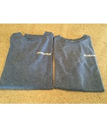 Men's Lot Of 2 Babolat Light Blue/White Long Sleeve/Short Sleeve Jersey'... - $28.05