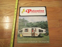 Palomino Camping trailers Travel 1979 RV Camping Vintage Dealer sales br... - $14.99