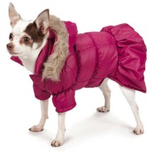 Park Avenue Parka Dog Coat Jacket Hood Hooded coats pet Zack & Zoey purple - $25.99+