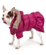 Park Avenue Parka Dog Coat Jacket Hood Hooded coats pet Zack & Zoey purple - $25.99+