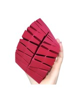 24 pcs Triangle Cosmetic Puff Disposable Puff Dry and Wet Dual-use Blend... - $7.50