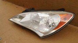 10-12 Hyundai Genesis Coupe Headlight Head Light Halogen Driver Left LH image 3