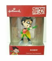 2018 Hallmark Teen Titans Go Robin Christmas Tree Ornament DC Comics Bat... - $9.95