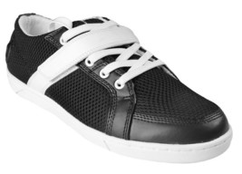 Heyday Super Shift Low Black and White Cross Fit Shoes Sneaker SSL1001 NIB