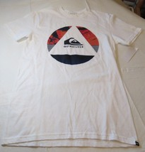 Quiksilver Mens short sleeve t shirt S Regular Fit Fluid Turns MTO WBB0 ... - $39.59