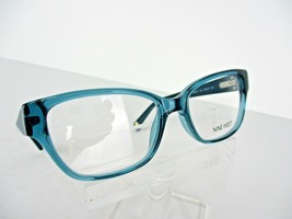 Nine West NW 5105 (320) Crystal Teal 48 x 16 135 mm PETITE Eyeglass Frame - $51.96