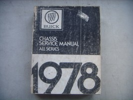 1978  BUICK Chassis Service Shop Manual  (Phone Book Size). Repair - $33.66