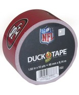 Duck Brand 281536 San Francisco 49ers NFL Team Logo Duct Tape, 1.88-Inch... - $52.99