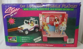 Starr Model Agency On Location Doll Mobile Playset SJeep & Beauty Salon NRFB - $98.99
