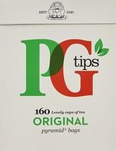 PG Tips, Pyramid Tea Bag, 160 Count Boxes - $12.63