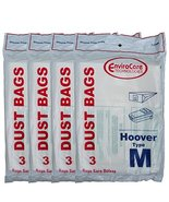 12 Hoover Dimension Canister Type M Vacuum Dust Bags, Fits all Dimension... - $18.91