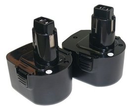 Titan Battery For Black & Decker PS130 FireStorm 12 volt Pod Style (2-Pa... - $59.57
